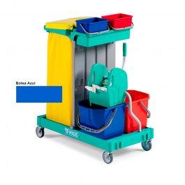 Imagem - Carrinho de Limpeza Compacto com Balde Espremedor 120B - TTS