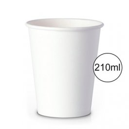 Imagem - Copo Papel 210ml c/50 unidades FNS Cup Branco