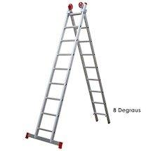 Imagem - Escada Aluminio Extensiva 2x08 Degraus 4,45m