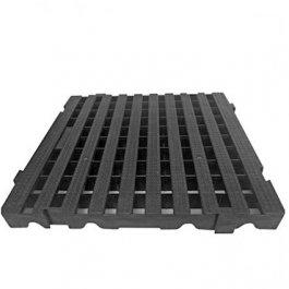 Imagem - Estrado Plástico Modular JSN 50x50cm - Preto