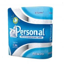 Imagem - Papel Higiênico Personal Folha Simples 30mt c/ 4 Rolos