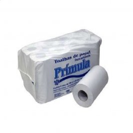 Imagem - Papel Toalha em Bobina Reciclado 8x20cmx50m Prímula