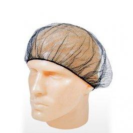 Imagem - Touca Nylon Preta Para Proteção Capilar Talge 10 unidades