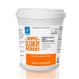 Imagem - Wipes Clean By Peroxy com 125 Panos Spartan