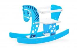 Imagem - Cavalinho Gangorra Bebê Azul Brinquedos Junges cód: 011462