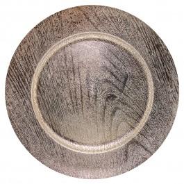 Imagem - Sousplat  Madel Bronze 33cm Mimo cód: 011672