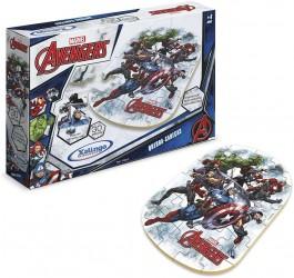 Imagem - Quebra Cabeça Avengers 3 Pçs Xalingo cód: 014532