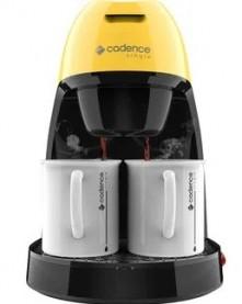 Imagem - Cafeteira Elétrica Single Colors Amarela Cadence cód: 016190