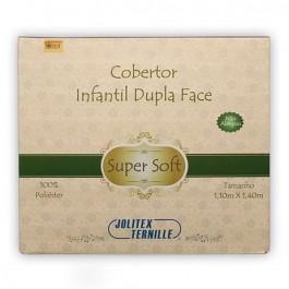 Imagem - Cobertor Infantil Super Soft Azul  Jolitex cód: 016803