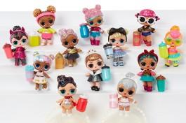 Imagem - Mini Boneca Surpresa Glitter Series Candide cód: 017253