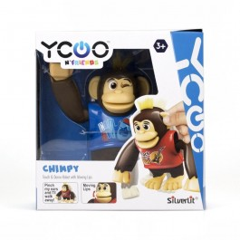 Imagem - Macaco Interativo Chimpy Silverlit Ycoo Candide cód: 017431