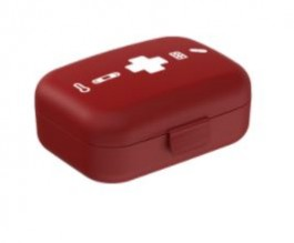 Imagem - Necessária Mini Farmácia Vermelha Coza cód: 018223