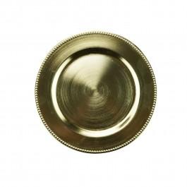 Imagem - Sousplat Dourado 25cm Rojemac cód: 019172
