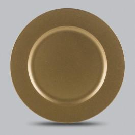 Imagem - Sousplat Gold 33cm Rojemac cód: 019986