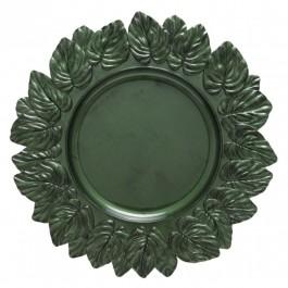 Imagem - Sousplat Leaf Olive Antique Copa&cia cód: 021206