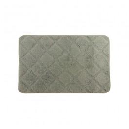 Imagem - Tapete Microfibra Cinza 70x45 cm Komlog cód: 021419