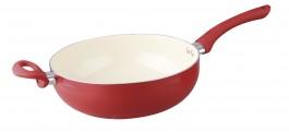 Imagem - Frigideira Wok Ceramic Vermelha 28cm Bigsul cód: 022518