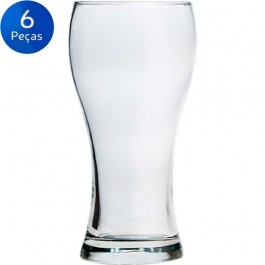 Imagem - Jogo 6 Copos de Cerveja 300ml Nadir Fig. cód: 002346
