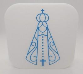 Imagem - Luminária Nossa Senhora Azul Decorfun cód: 030716