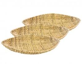 Imagem - Cesta Oval Seagrass 46x24 cm Yangzi cód: 004822