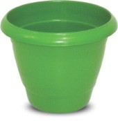 Imagem - Vaso Redondo Verde 14,5L Plasnew cód: 008781