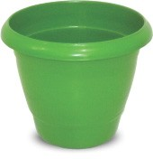 Imagem - Vaso Redondo Verde 21,5L Plasnew cód: 008782