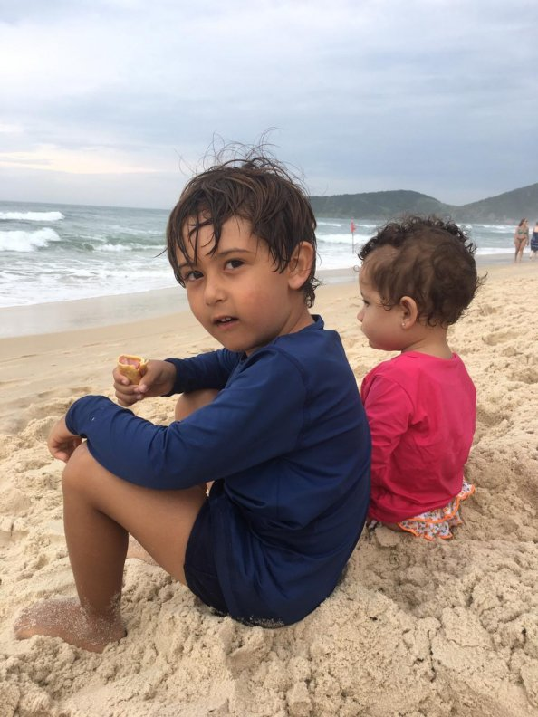 CAMISETA PROTEÇÃO UV 50+ INFANTIL