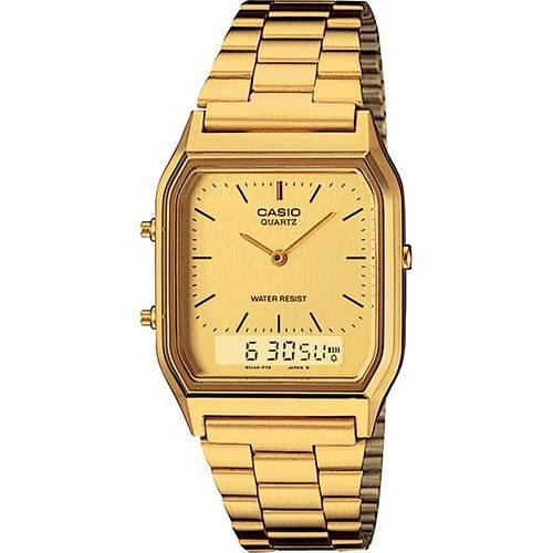 Relógio Casio Dourado AQ-230GA-9BMQ