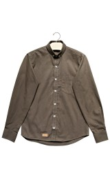 Imagem - Camisa Aragäna Masculina Oxford Verde Militar - 2.2052