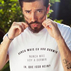 Imagem - Camiseta Aragäna Masculina Nunca Mais - 2.2536