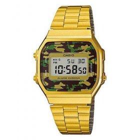 Imagem - Relógio Casio Vintage | Dourado/Militar A168WEGC-3DF - 2.2167