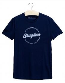 Imagem - Camiseta Aragäna Masculina As melhores coisas da vida não são coisas | Marinho - 2.1192