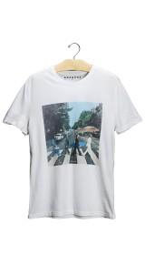 Imagem - Camiseta Aragäna Masculina Beatles | Branco  - 2.2026