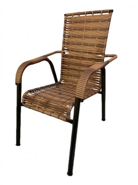 Cadeira Fixa para Área Externa de Fibra Sintética Bel'Star
