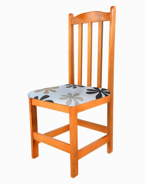 Cadeira em Madeira com assento estofado Tescal Yasmin