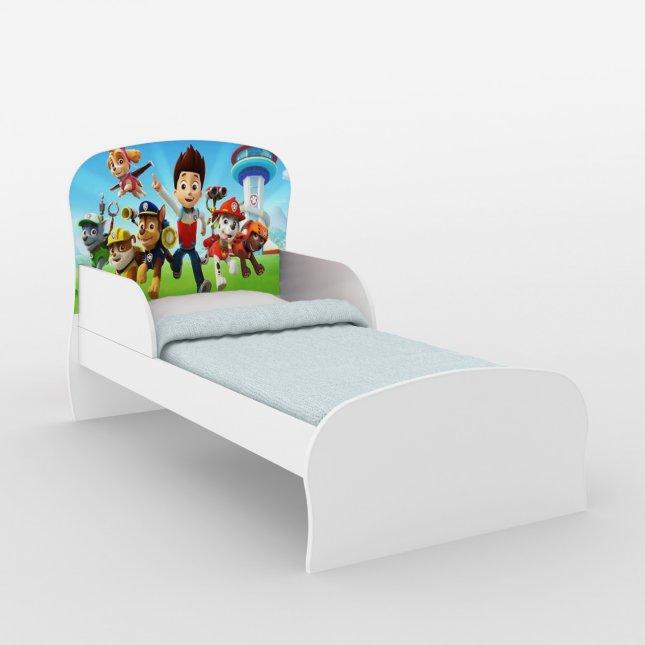 Mini Cama Infantil DJD Móveis em MDP Personagens