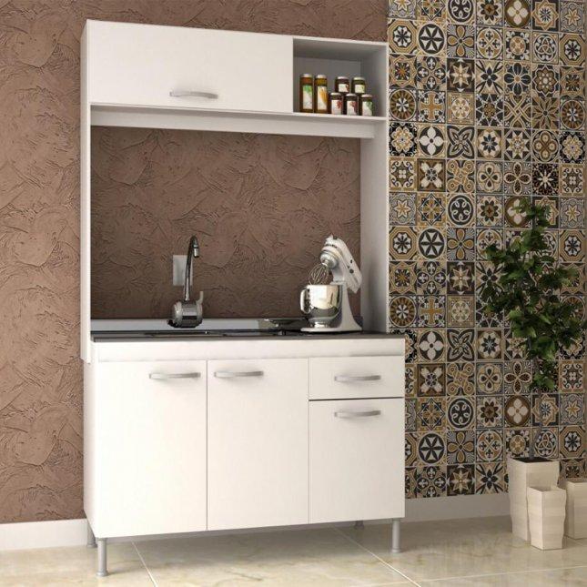 Cozinha Compacta 1,92x1,22x0,51m Manto Móveis MDP Pop New