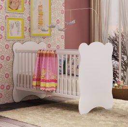 Imagem - Berço Infantil com mosquiteiro 0,92x0,68x1,33m Percasa MDP cód: 2-2