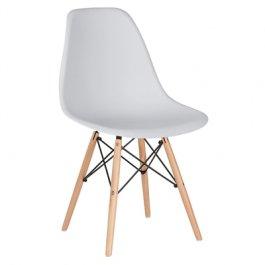 Imagem - Cadeira Assento Polipropileno e Pé Palito Charles Eames Eiffel cód: 199-6
