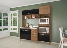 Imagem - Cozinha Compacta 2,07x1,85x0,53m Atualle MDP Casablanca  cód: 153-3