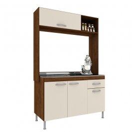 Imagem - Cozinha Compacta 1,92x1,22x0,51m Manto Móveis MDP Pop New cód: 326-3