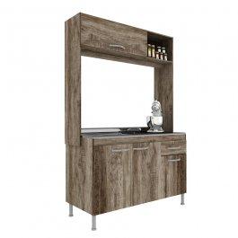 Imagem - Cozinha Compacta 1,92x1,22x0,51m Manto Móveis MDP Pop New cód: 326-2