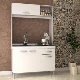 Imagem - Cozinha Compacta 1,92x1,22x0,51m Manto Móveis MDP Pop New cód: 326-1