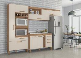 Imagem - Cozinha Compacta/Completa em MDP Atualle Nápoles cód: 8103-1