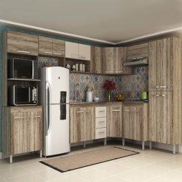 Imagem - Cozinha Modulada com 9 Módulos Manto Móveis Sportage em MDP cód: 8102-1