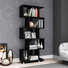 Imagem - Estante Regular Decorativa 1,84x0,78m Móvel Bento MDP cód: 403-4