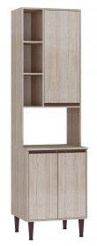 Imagem - Paneleiro Simples com 3 nichos e 3 portas Fellicci Cozinha New cód: 446-1