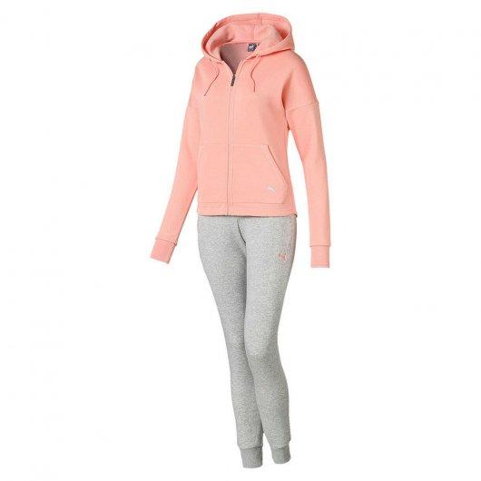 Abrigo Puma Clean Sweat Suit Cl Feminino