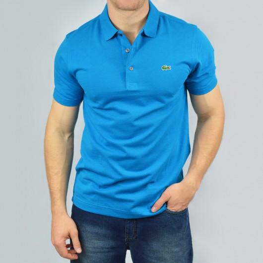 d78527270aa31 Camisa Polo Lacoste MC Original Masculina