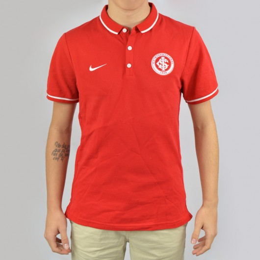 88d6ae8134 Camisa Polo Nike Internacional League Authentic 693096-611 ...